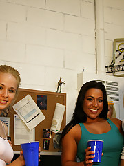 Watch this hot college babe fuck party i had at my dorm unreal babes fucking in every room