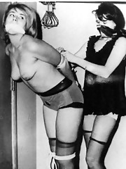 Vintage spanking session from the twenties