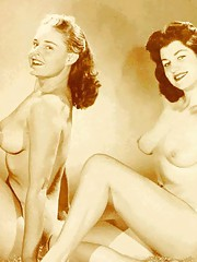 Hot horny twosomes and threesomes in fifties