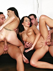 Eva torres get fucked hard in these hot pussy fucking anal 4some hot pics