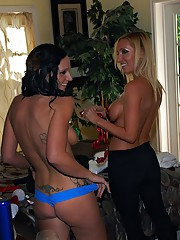 Smoking hot fucking ass lesbian babe gets fucked hard under the tree in these hot fucking pics