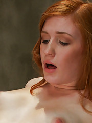 Amateur red head smoking hot local girl is machine fucked into oblivion by three custom robots that work her pussy into a creamy mess.