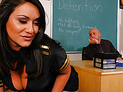 Charley loving a good day fucking her teacher