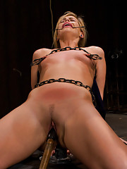 Sexually tormented and tormented sexually. Tara endures wax, whippings, spankings and unforgiving orgasms from the sex machines. Unable to escape the