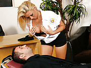 Busty Paramedic fucking a big cocked patient