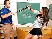Uma Stone getting pounded hard in class