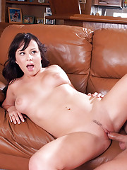 Lindy Lane was supposed to play a game with her friend, but she only found her friend�s brother at the house. Instead of getting bent out of shape, Lindy decides that fooling around with him is as good as playing with her friend!!