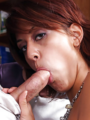 Lyla Storm heard a rumor about her co-worker Mikey and the size of his package. Before she takes lunch, Lyla wants to take what