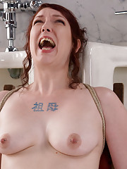 Anal Antics... Carmen Takes a LOT of water for her Enema Autdition