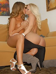 Big tits hot long leg molly and her girlfriend fuck eachother hard in these lesbian fucking day fucking lesbian sex pics