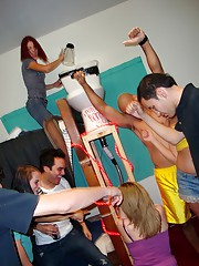 Watch hot fucking teens play dodgeball in these dorm room then suck some cock and get fucked in this real amateur submitted dorm room sex picset