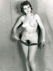 Vintage chicks with hairy pussies in fourties