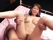 Yuma Asami tits boucing as she gets fucked hard from behind