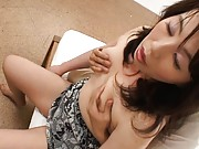 Amateur Asian babe in a hotel room with her horny lover