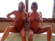 Hottub fun with Melissa