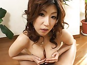 Naho Hazuki eager to get fucked as she sucks her boyfriends cock