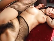 Fuuka Takanashi pussy fucked by his huge cock in this video