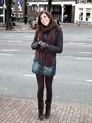 Sex tourist visiting prostitute in amsterdam
