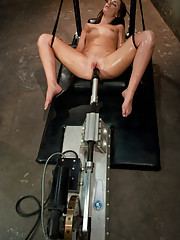 Lily Carter and Isis Love on mission for the perfect orgasm. Lily squirts in streams, Isis HOSES the lens and nearly passes out from the Sybian.