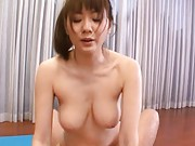 Yuma Asami large breasts look hot as they bounce during sex