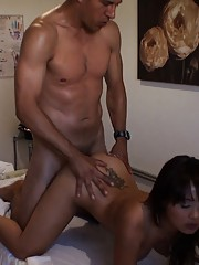 Check out these hot pics of asian massage babe getting fucked in these rub and tug fuck pics