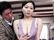 horny milf Miki Sato gets teased by a guy who wants to fuck her