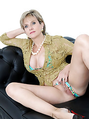 Long legs big tits english mature