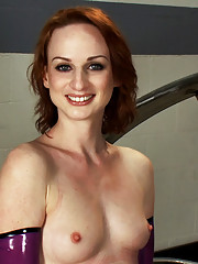 FuckingMachines member turned model - machine fucked with intense suction that grows her clit, inflatable dildos & alien machines fuck her pussy open.