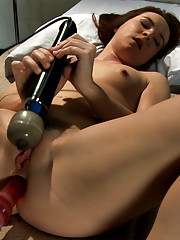 Princess Donna destroys Annabelle Lee - she attempts fisting while ass fucking her with a machine AND shoves monster cock in her tight pussy.