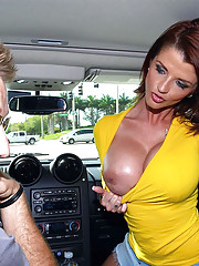 Hot ass fucking big tits milf fucks her girlfriend then takes a dong deep in her mouth and pussy hot pics