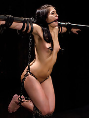 Fucked hard, fucked fast. Jade is bent over, strung up, vibed, whipped and made to cum. All without the sweet sounds of her suffering first.