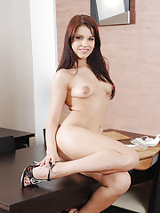 Crazy Angel loves spending plenty of quality time with her sex toys, and she