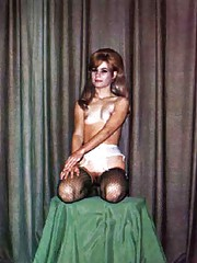 Sexy vintange girls in stockings in sixties