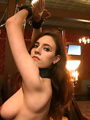House slave Iona Grace gets some one on one time with the Pope.