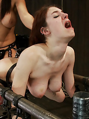 Big tittied Iona is ass hooked then fucked until she can