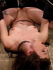 Seda gets pushed to the limit. She takes an ass fucking, vicious pussy whippings, relentless caning during orgasm and machine fucked to top it off.
