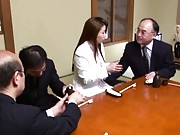 Sakiko Mihara is a sexy mature woman who works in an office