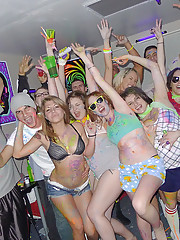 Check out these hot ass college dorm room black out rave sex party amazing fucking real college babes getting nailed
