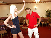 Fine ass milf nailed hard in her tight ass box by her dance instructor 4 hot movies