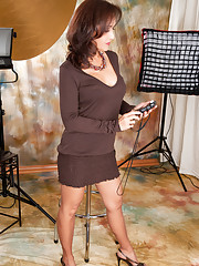 Milf in Skirt