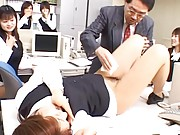 Japanese AV Model´s pussy is wiped while her diaper is changed