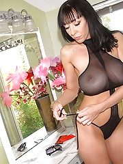 Amazing big tits brunette drilled hard in the park hot outdoor fucking pics