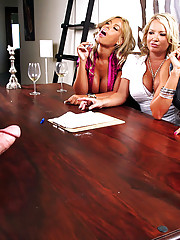 Check this hot milf 3some table fucking episode starring monique from cfnm secrets hot cumfaced screaming pics
