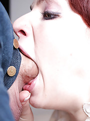 cute shaved redhead gets her tight shaved pink pussy fucked ...