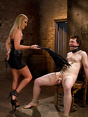 Domme brings her real life slave to Divine Bitches to be cuckolded!