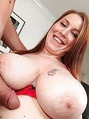 Check out this hot big ass boobs babe nailed hard in her office in these hot desk job fuck pics