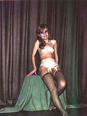 Beautiful ladies are posing naked in sixties