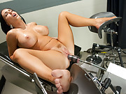 Jenna Presley and her ever cumming, squirting pussy return to FM. This big tit bombshell squirts everywhere as she