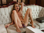 Porn Starlet orgasm-a-thon - Lexi Belle circuit fucks machines. Sybian mega-vibe orgasms, thrusting BIG dongs and her mouth gag and drooling!