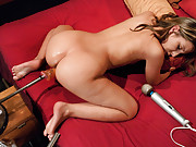 So hot, so innocent & so ready to try it all-Sasha takes a hard machine pounding in her perfect, pink,pussy before surrendering her clit to the Sybian